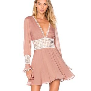For Love and Lemons Celine Mini Dress S
